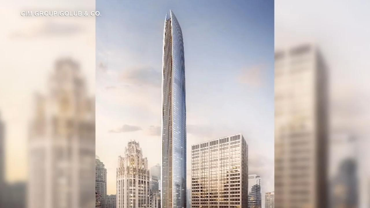 Tribune Tower owners unveil plans for Chicagos 2nd-tallest skyscraper