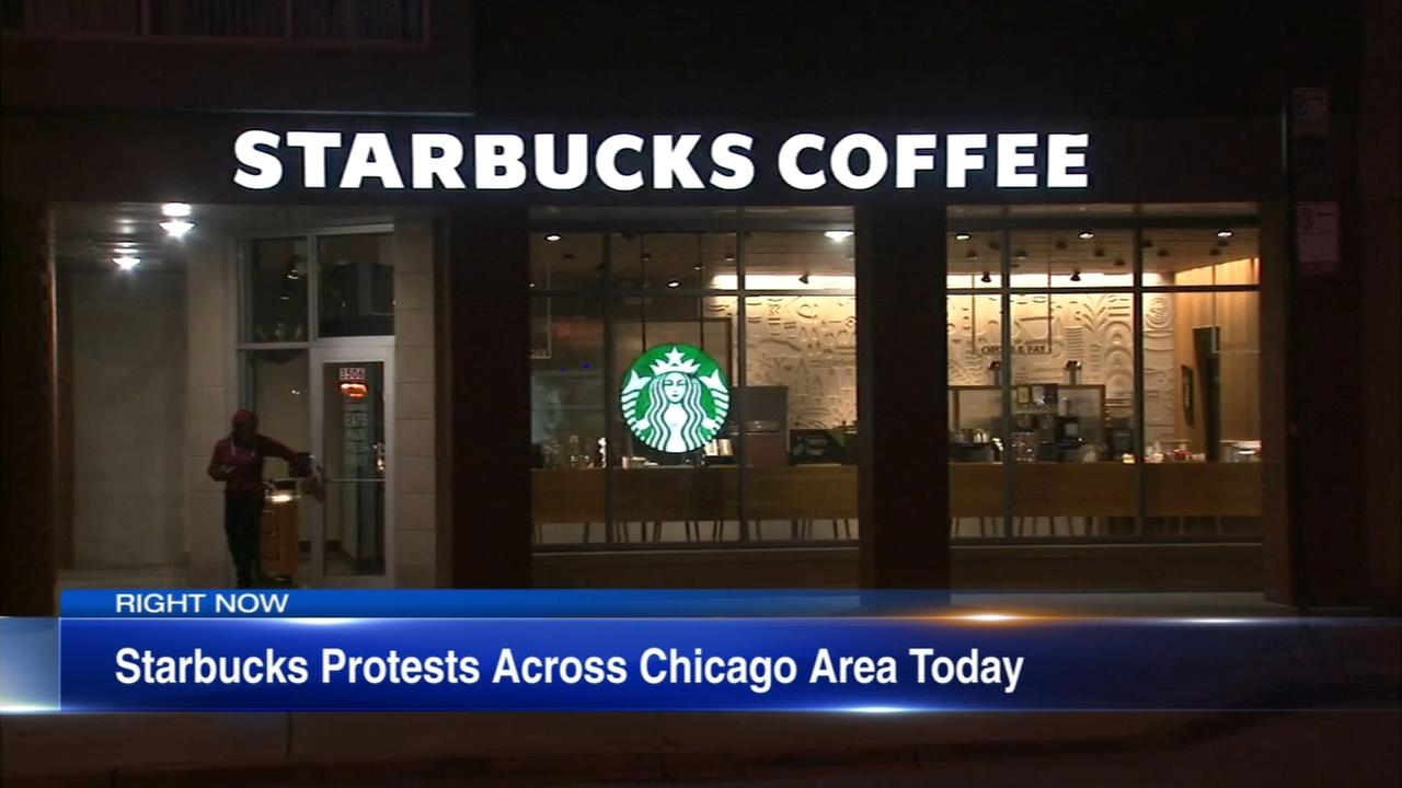 Protests planned at Chicago area Starbucks Wednesday