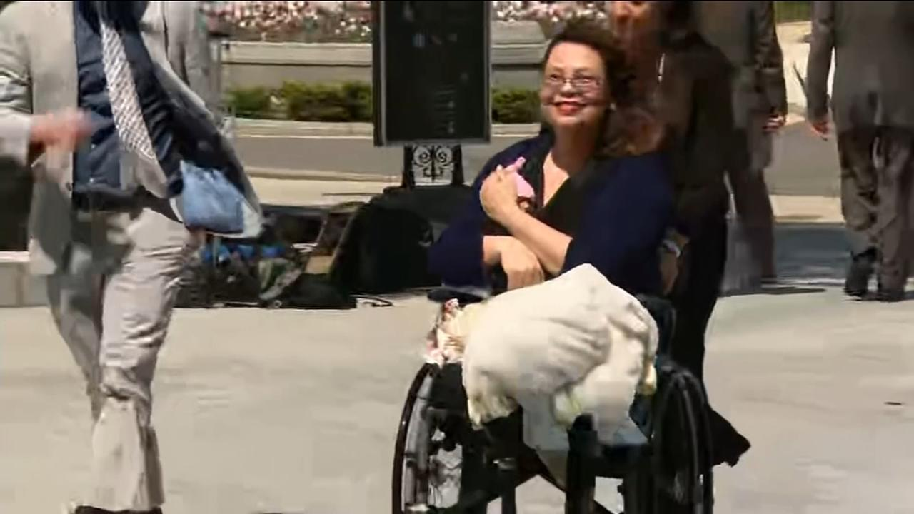 Sen. Duckworth makes history, casts vote with baby on Senate floor