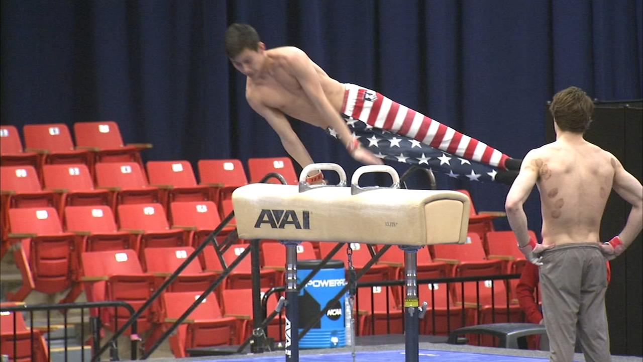 Local gymnasts competing in NCAA Mens Championships in Chicago this weekend
