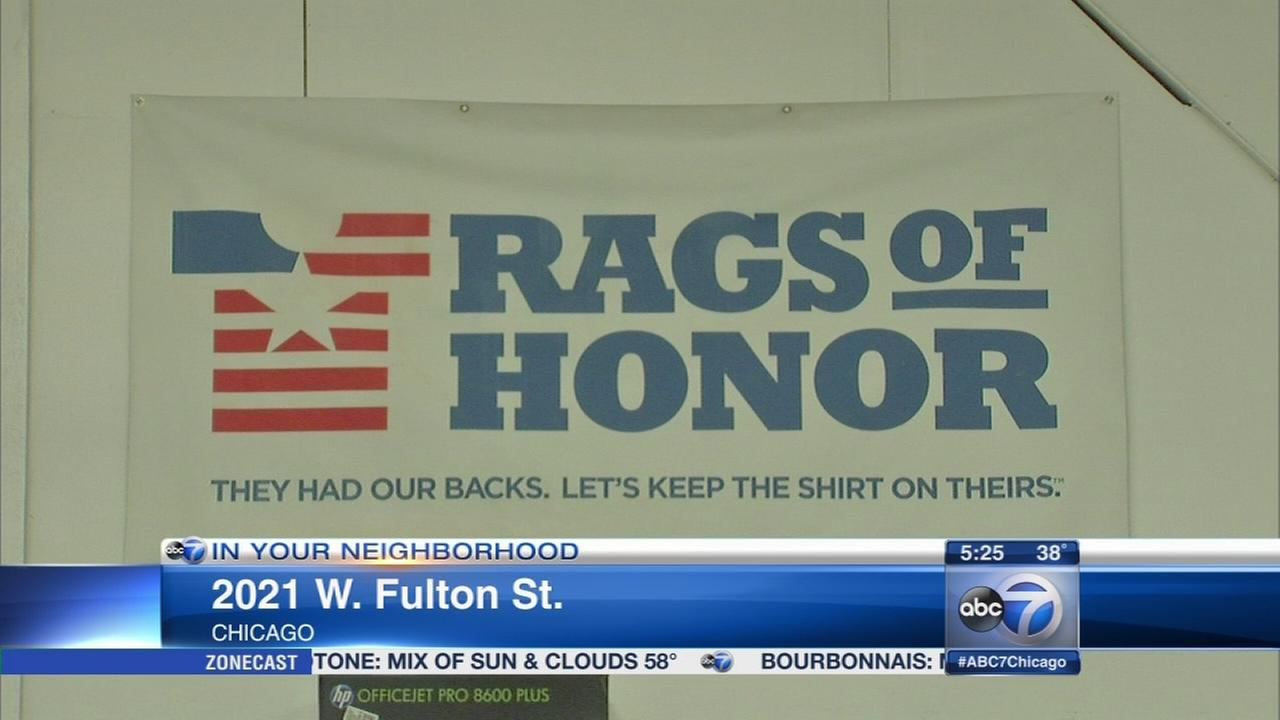T-shirt company a lifeline for homeless veterans