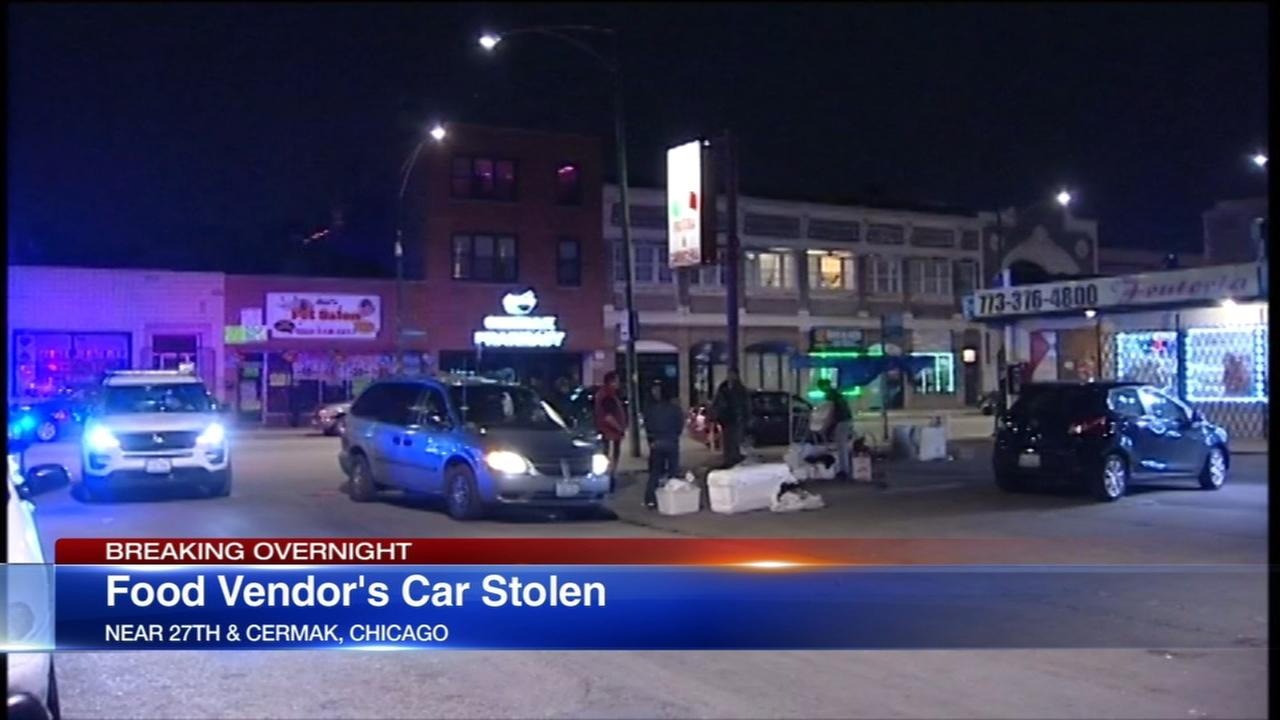 Woman dragged as person steals her van in Little Village
