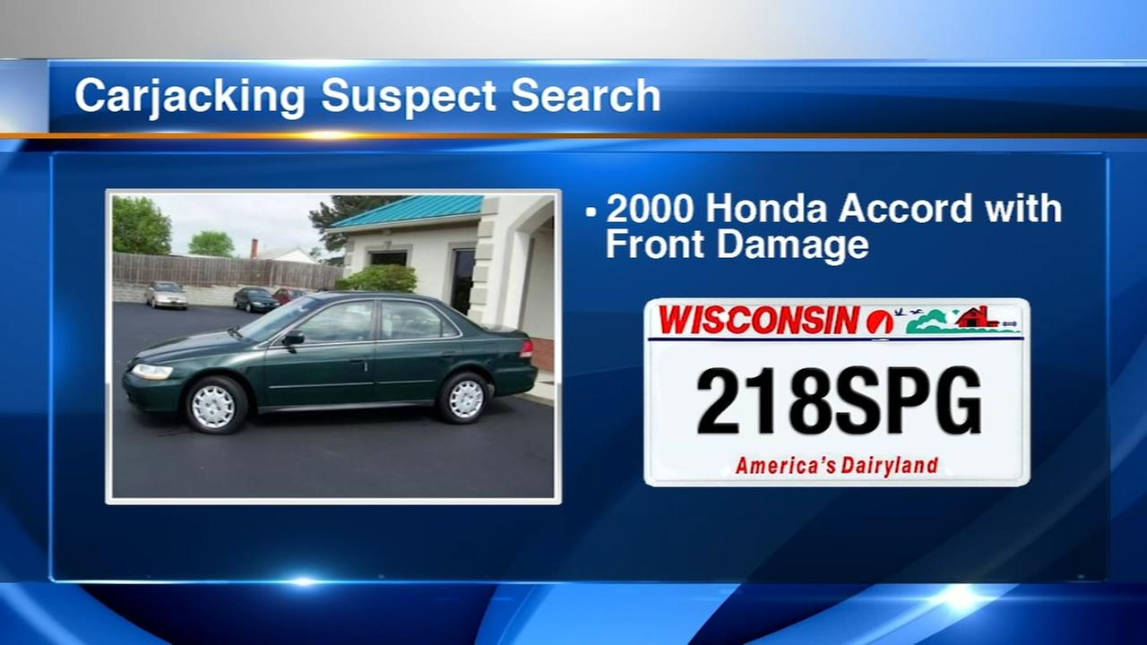 Suspects at large after potential string of carjackings