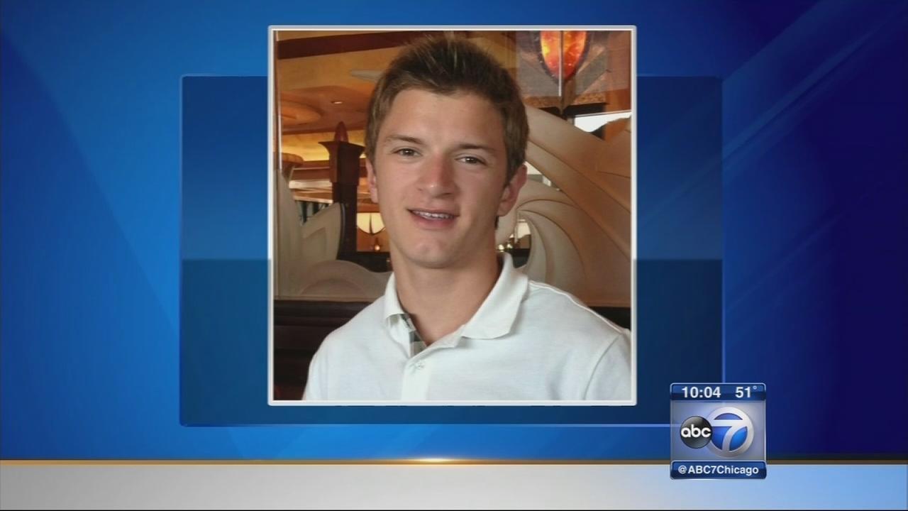 Parents of murdered Skokie 17-year-old Maxwell Gadau speak after funeral