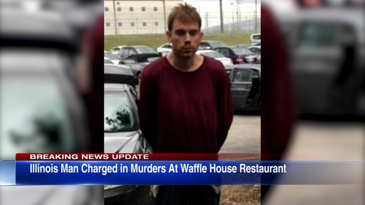 Suspect from Ill. charged in Tenn. Waffle House shooting