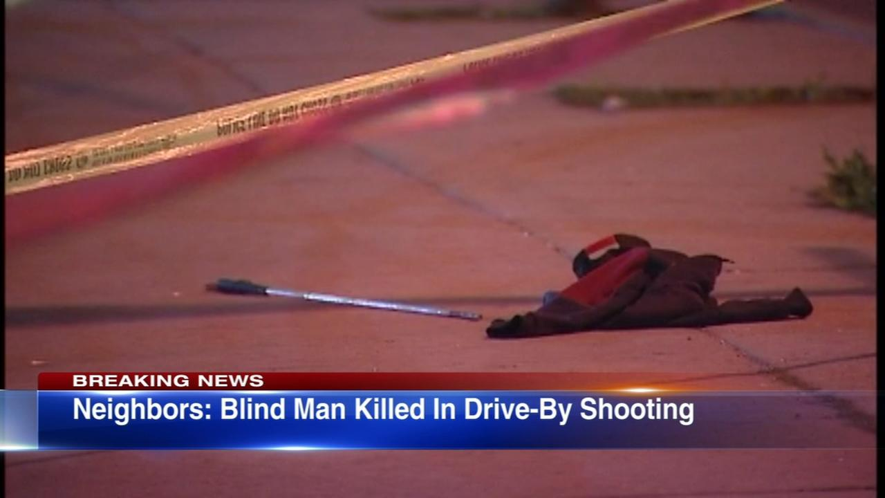 Blind man fatally shot in West Side drive-by, neighbors say