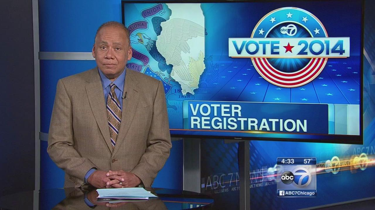 Illinois voter registration efforts ramp up a month from election