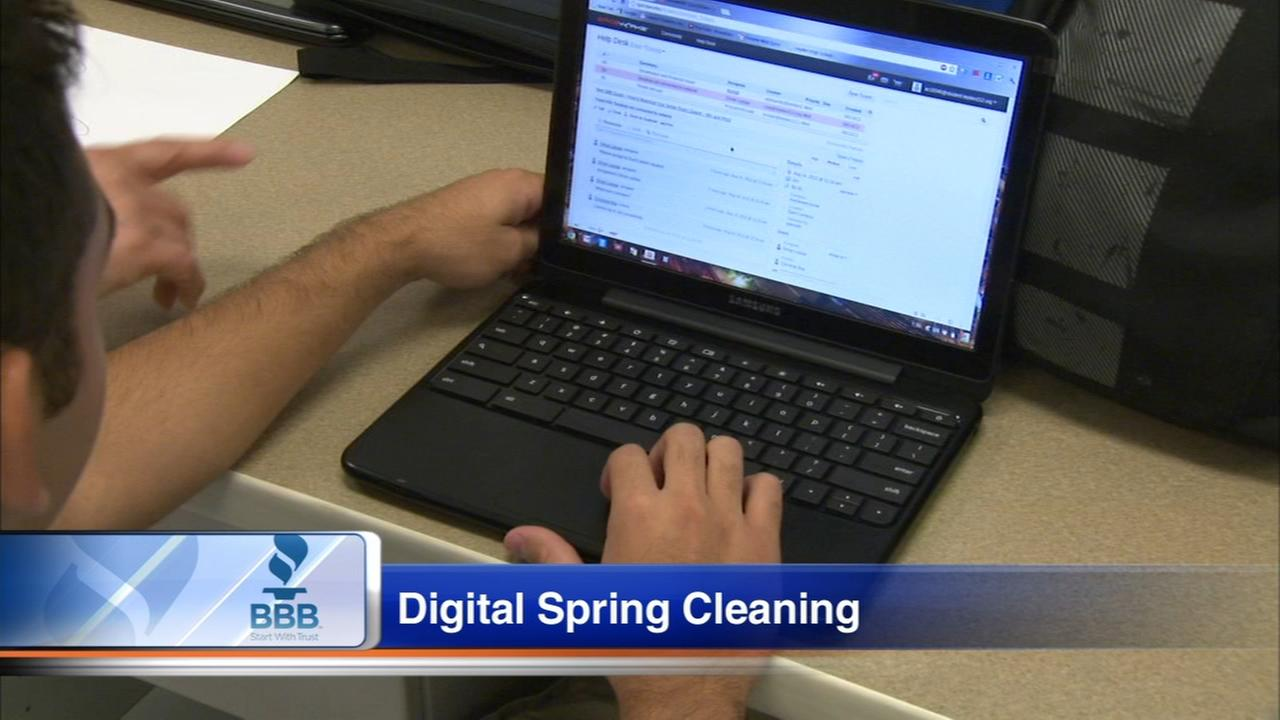 BBB offers tips on digital spring cleaning
