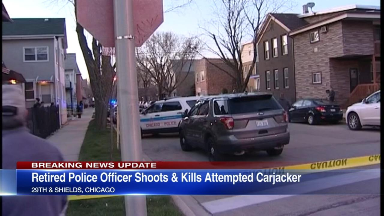 Police: Retired officer fatally shoots attempted carjacker