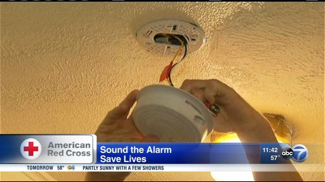 Red Cross Sound the Alarm event to install free smoke alarms in Chicago area