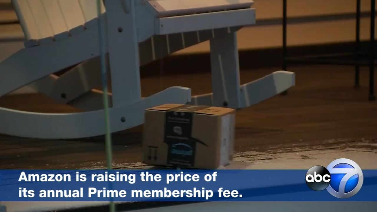 Amazon raising price of annual Prime membership to $119