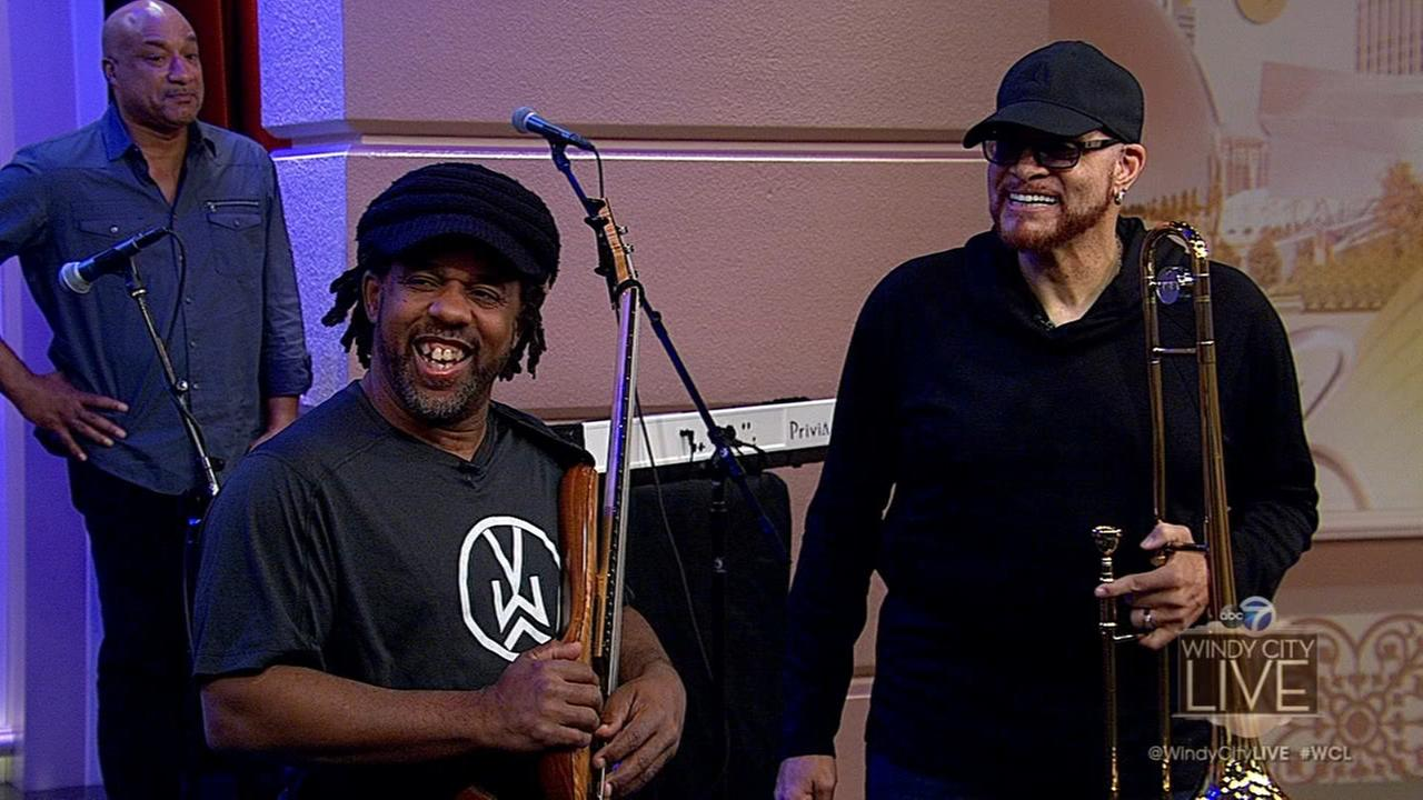 Victor Wooten and Sinbad visit ahead of their tour