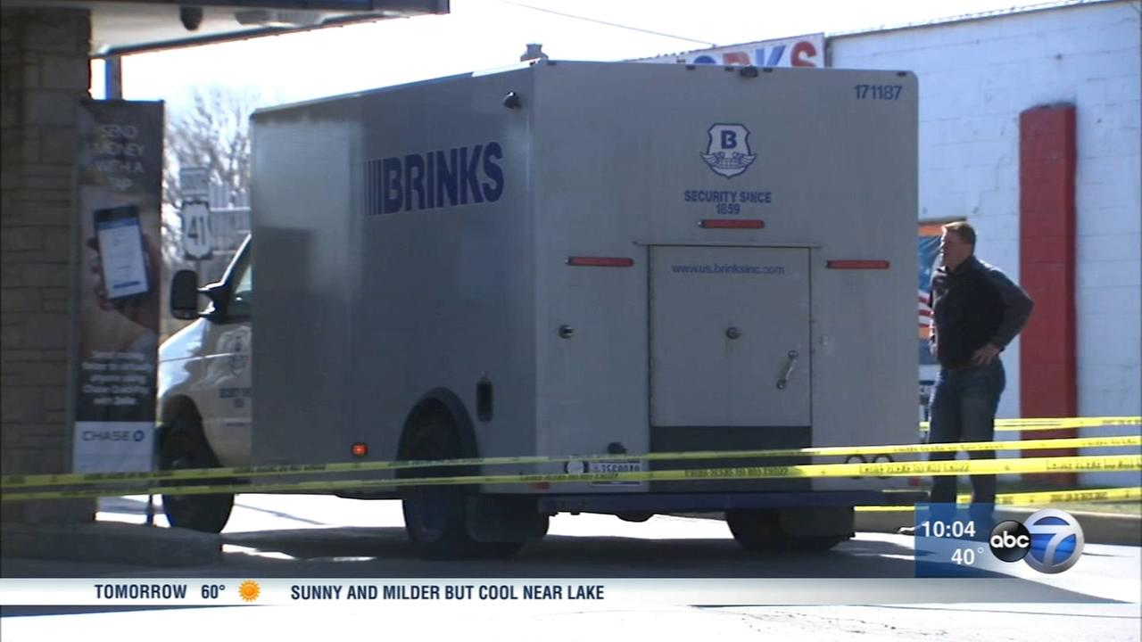 Armored truck robbed in NW Indiana
