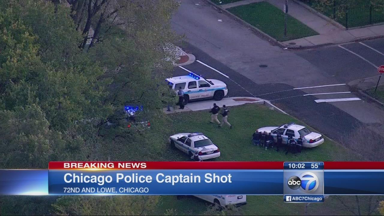 Wounded Chicago police captain upgraded to stable condition