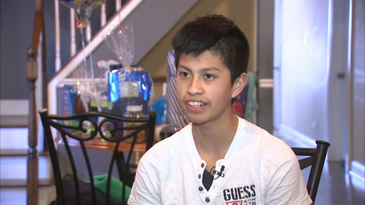 Teen struck by bullet on CTA bus home from hospital
