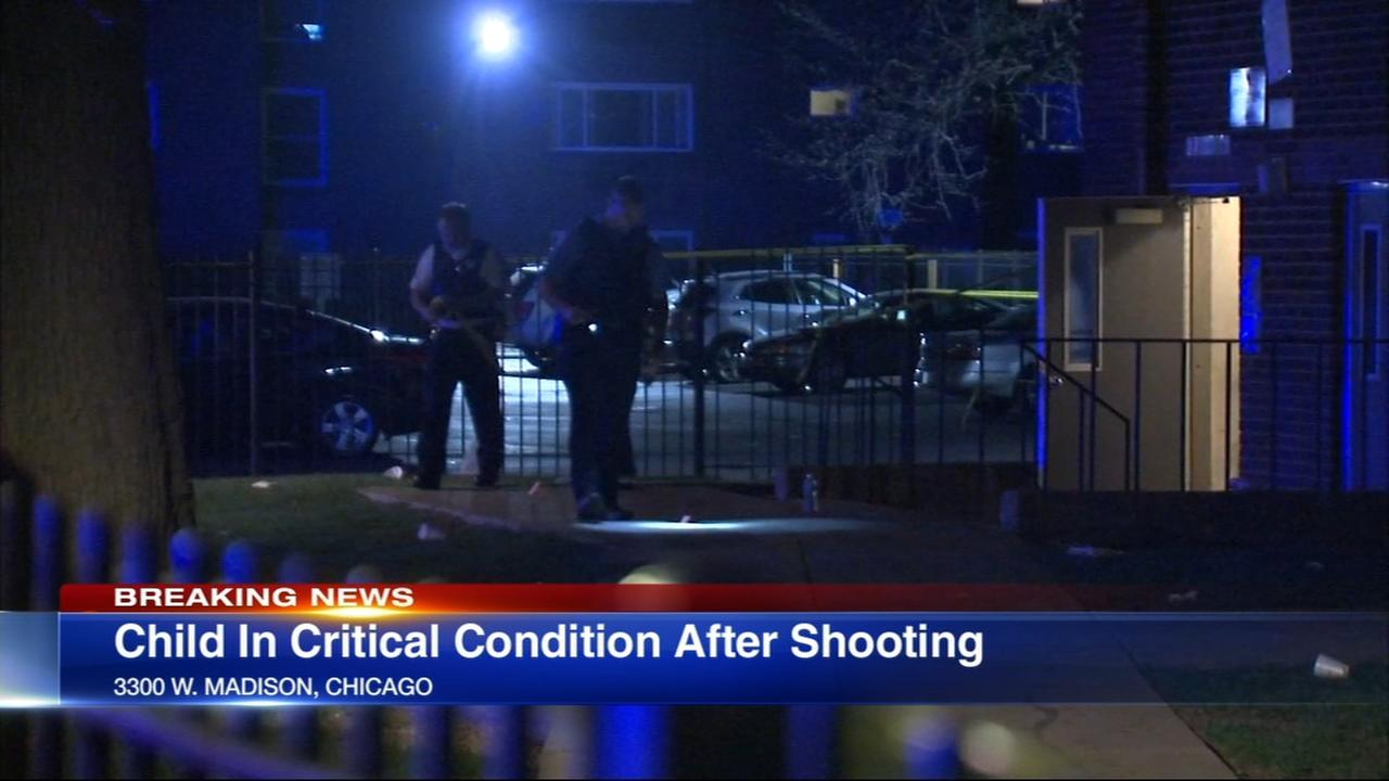 Boy, 12, shot in East Garfield Park