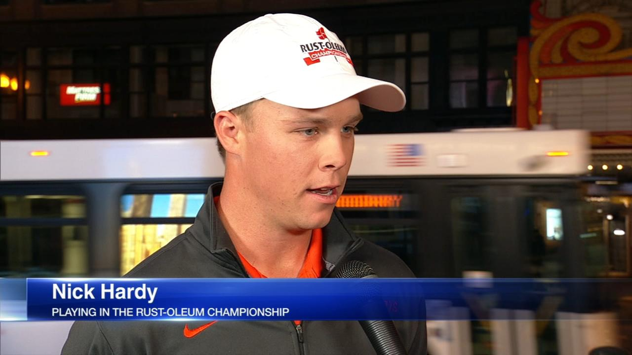 U of I golfer Nick Hardy playing in Rust-Oleum Championship