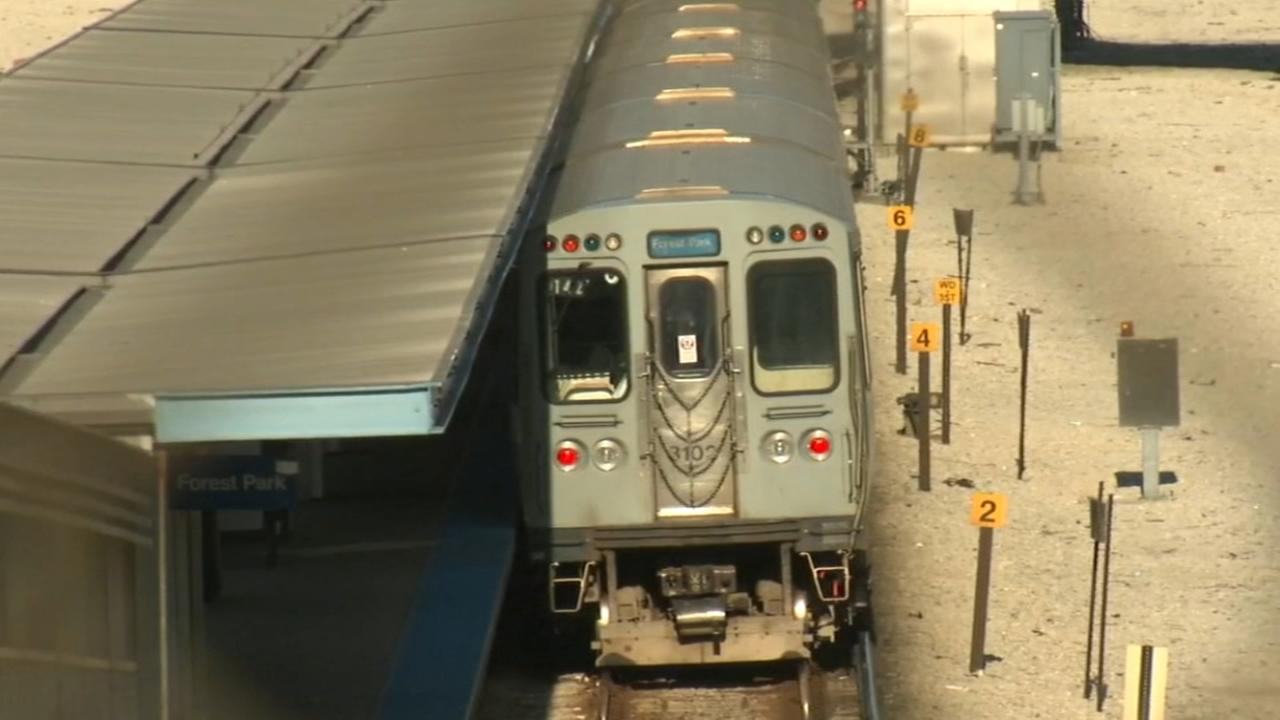 Man stabbed on CTA Blue Line train near Racine