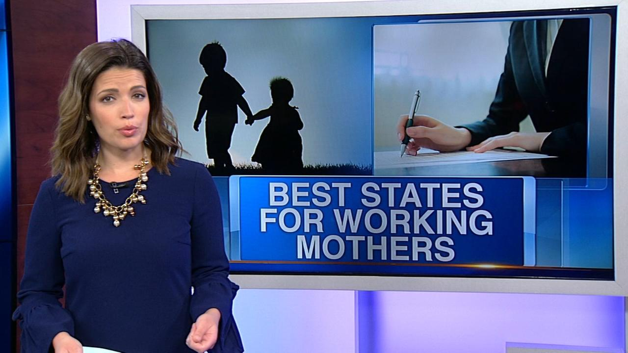 Best and worst states for working moms in 2018