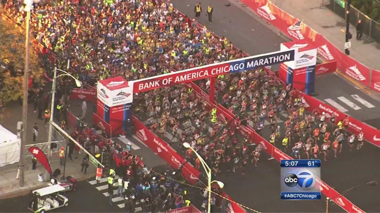 45,000 runners expected at Chicago Marathon this weekend