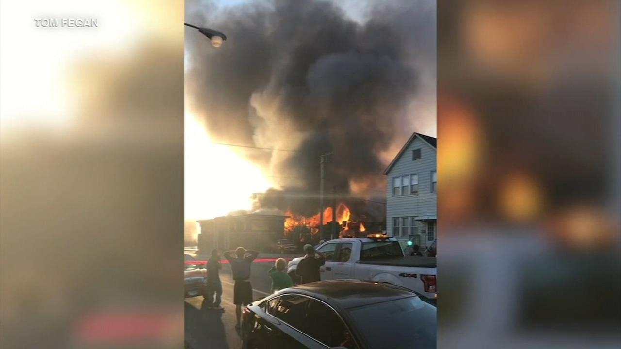 Fire struck out at pallet company on South Side