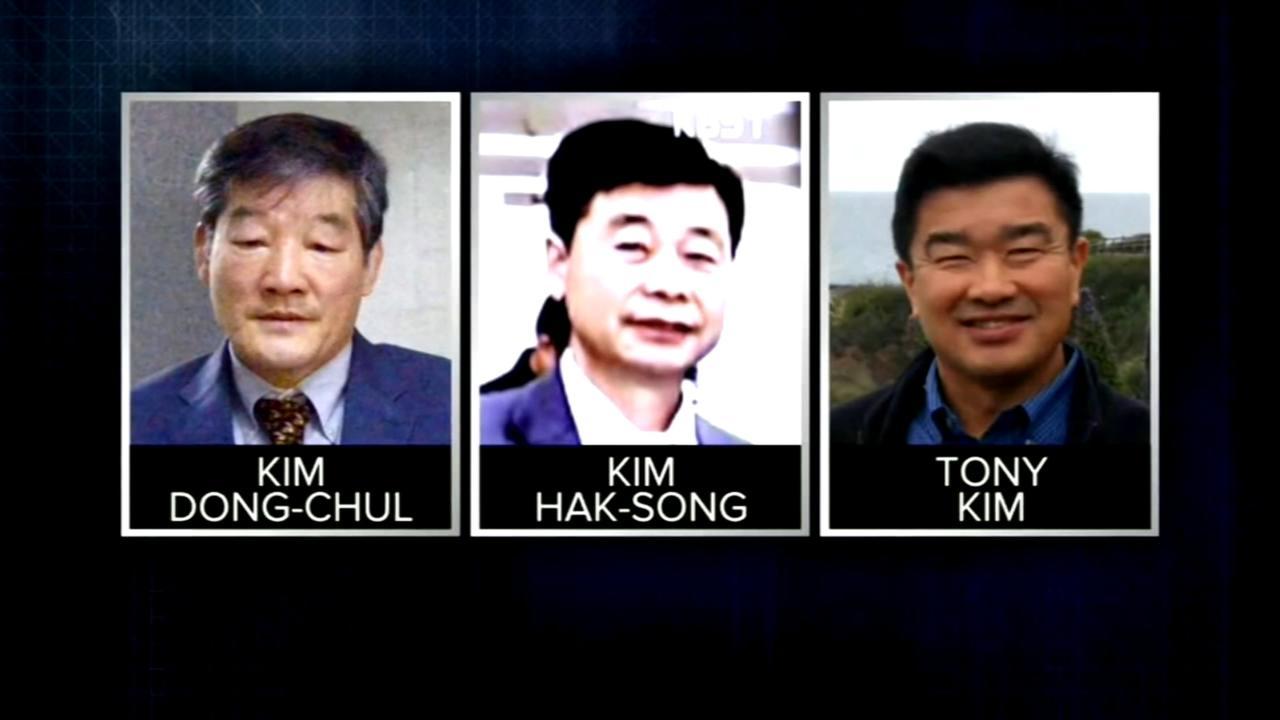 3 Americans held in North Korea released, will meet Trump overnight