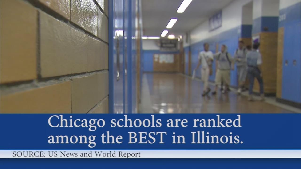 Chicago schools rank among best in Illinois