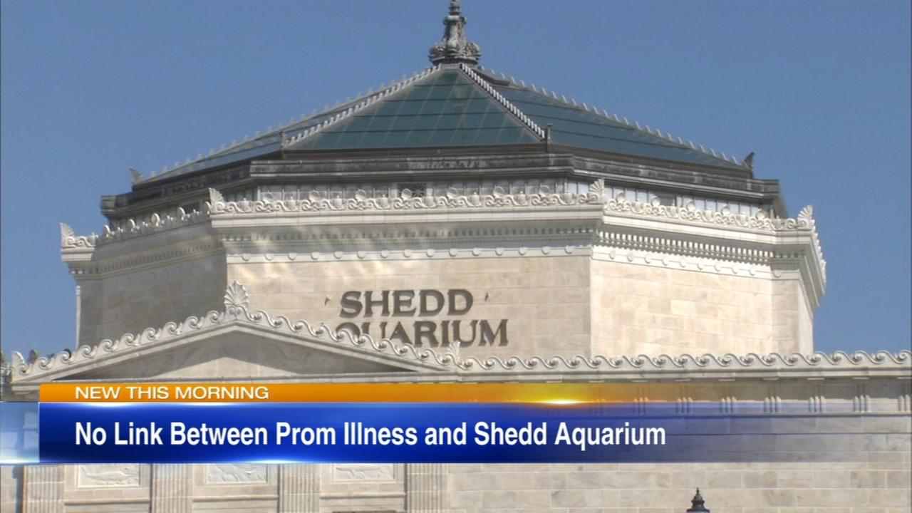 Prom ilness not related to food at Shedd Aquarium, officials say