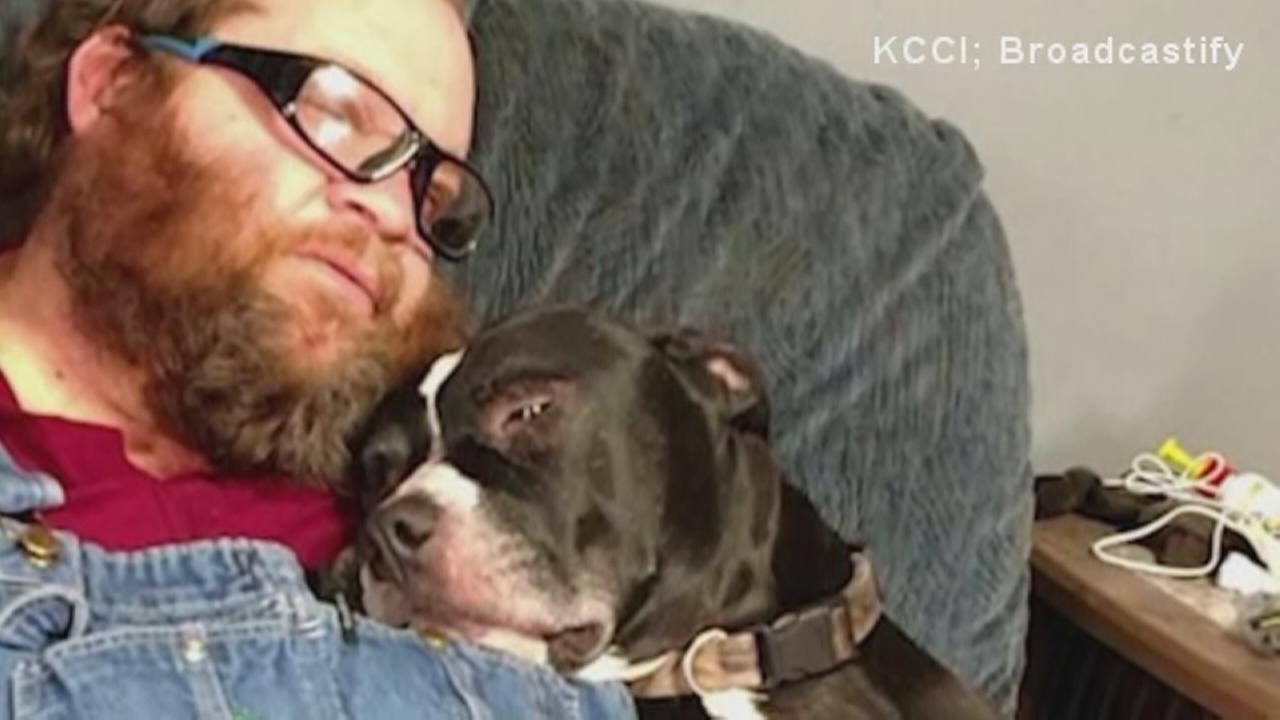 Iowa man shot by dog in freak accident