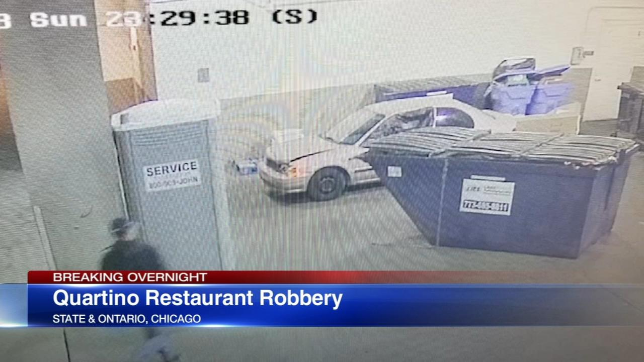 Employees robbed at gunpoint Quartino restaurant in River North