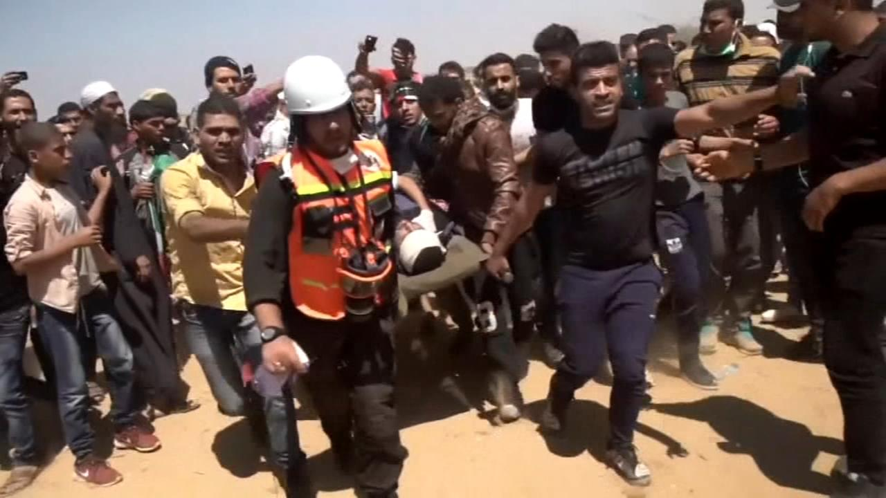 55 dead in Gaza protests as US Embassy opens in Jerusalem
