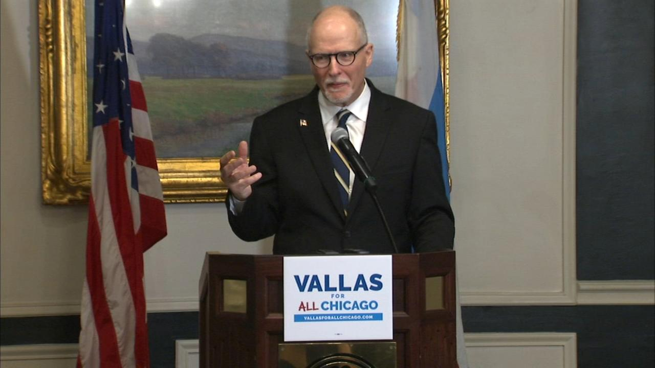 Chicago mayoral candidate Paul Vallas unveils public safety plan