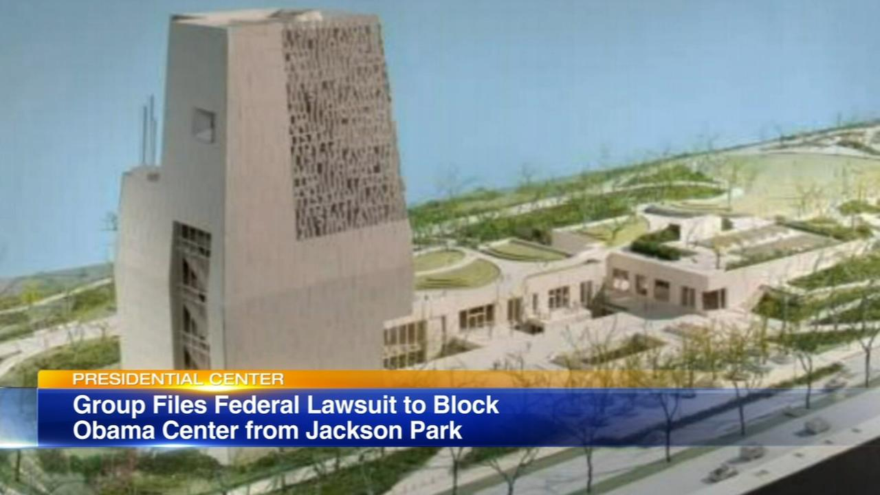 Lawsuit filed to block Obama Center in Chicago park