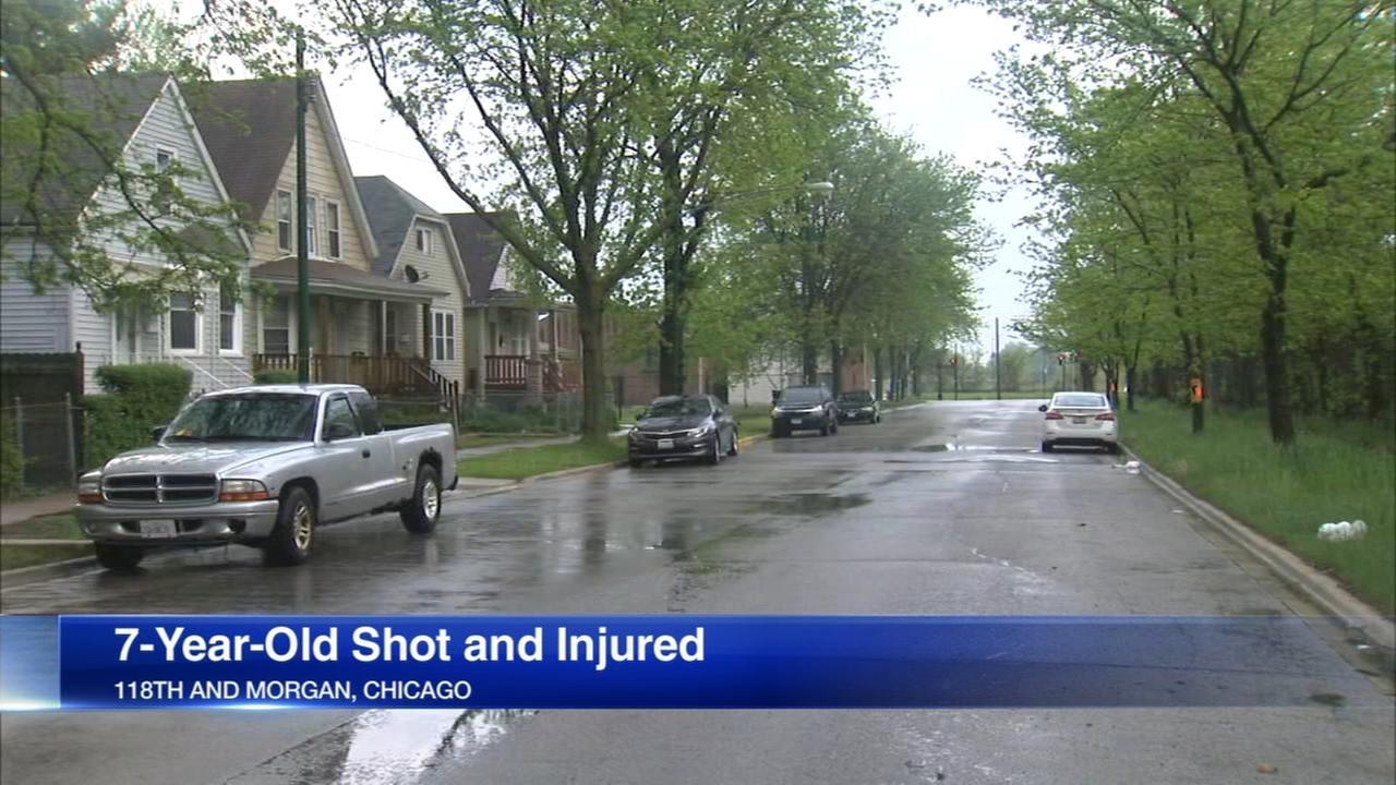 7-year-old boy shot in West Pullman