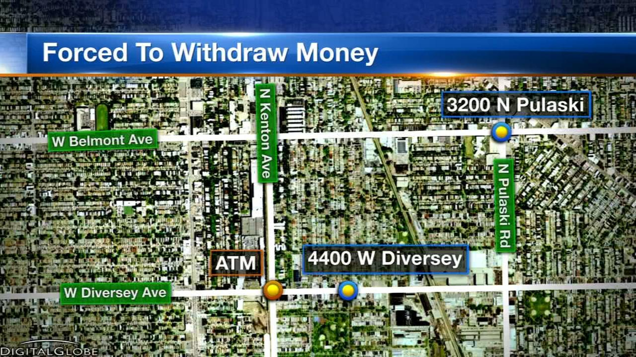 Police: Armed robbers forced women to drive to ATMs, withdraw money on NW Side