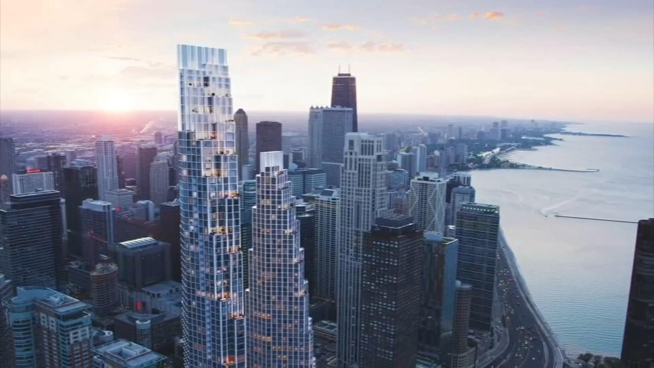 Famed architect proposes 2 skyscrapers on site of failed Chicago Spire