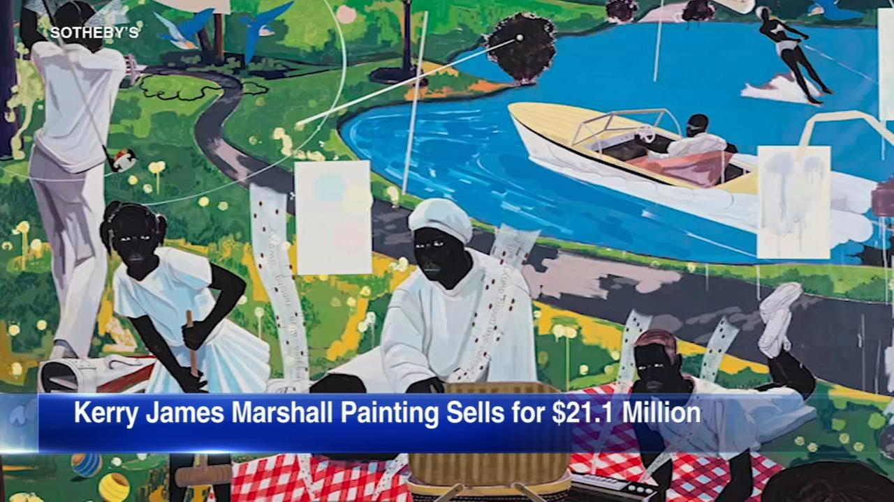 Chicago artists painting auctioned for record-setting $21M