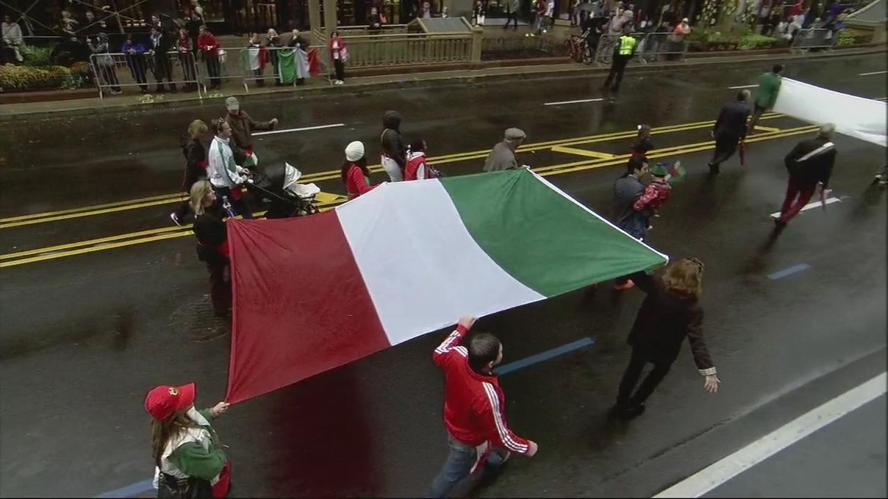 Columbus Day Parade, part four