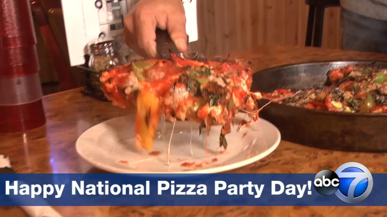Happy national pizza party day for Cuisine janod happy day