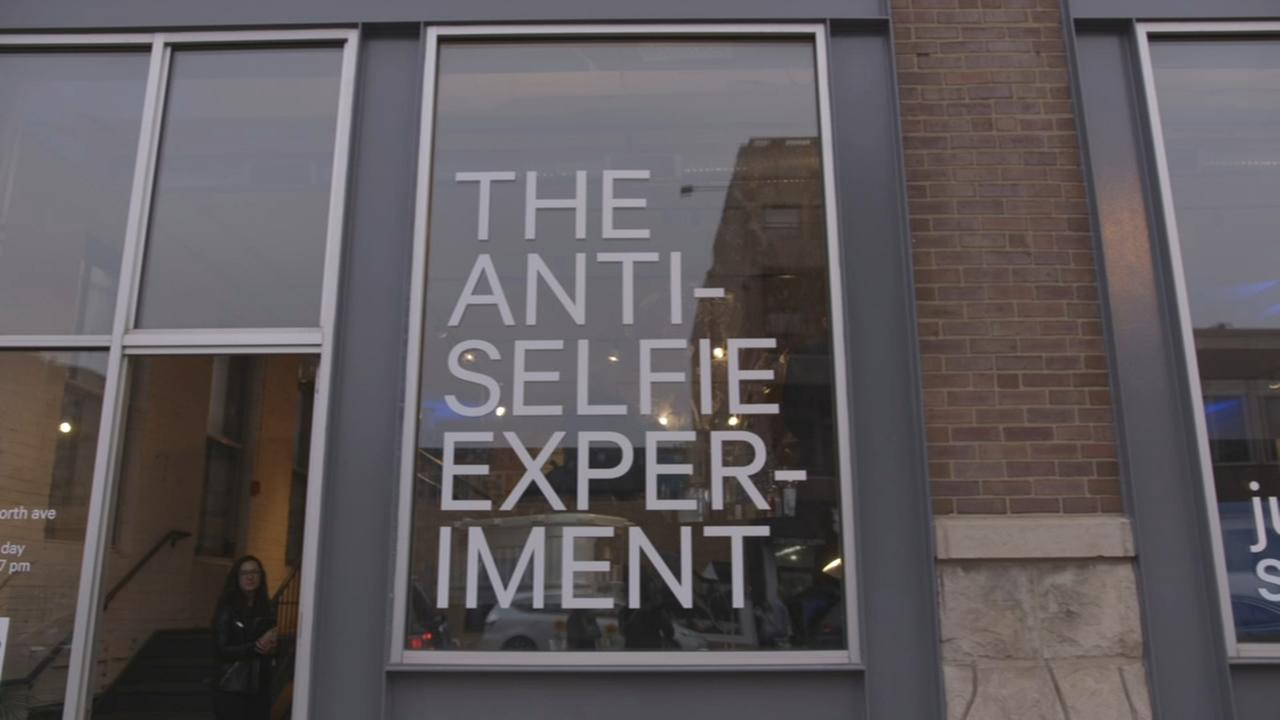 Anti-Selfie Experiment aims to disrupt selfie culture