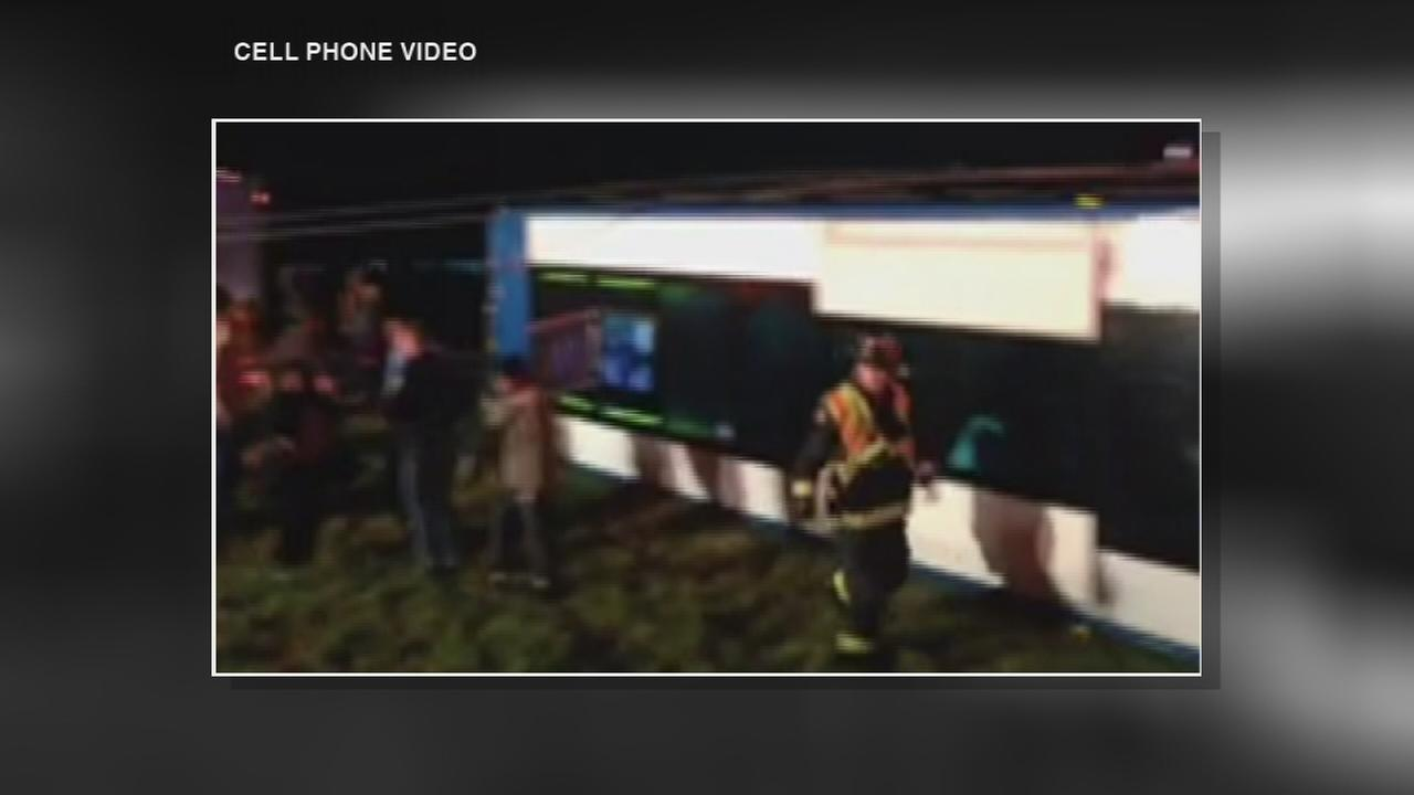 Cell Phone Video: Ind. Bus Crash
