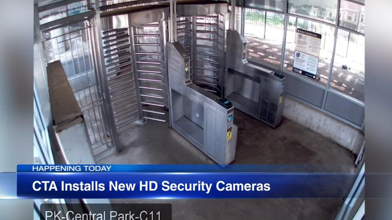 CTA installing new HD security cameras