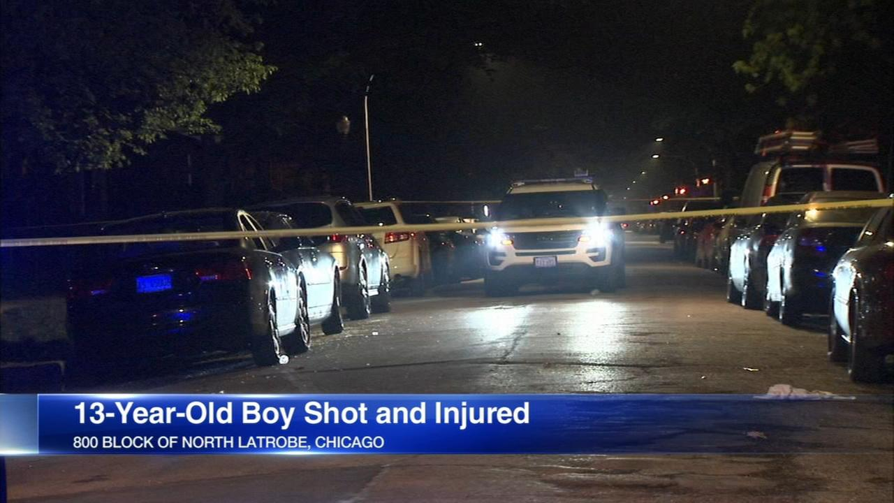 Boy, 13, shot in Austin