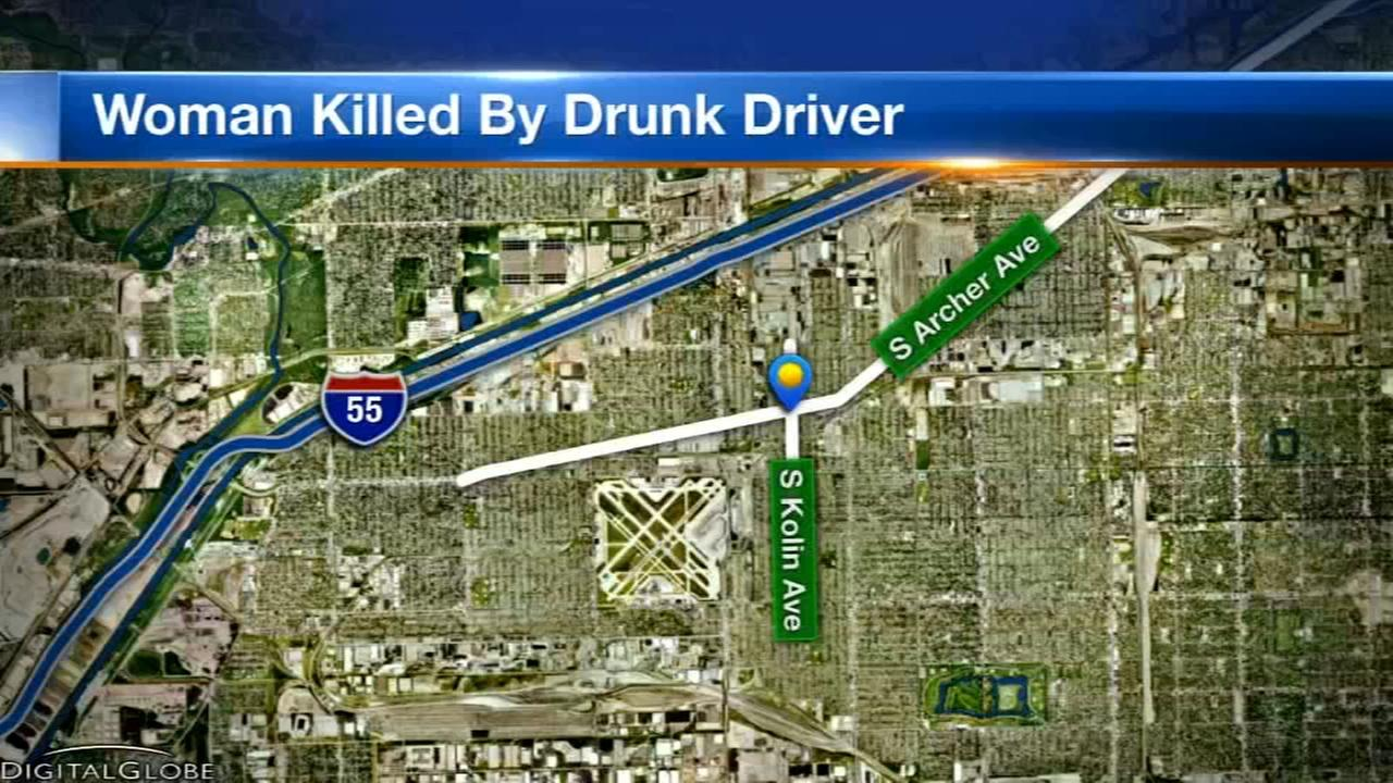 Woman struck and killed by car on Southwest Side, driver arrested
