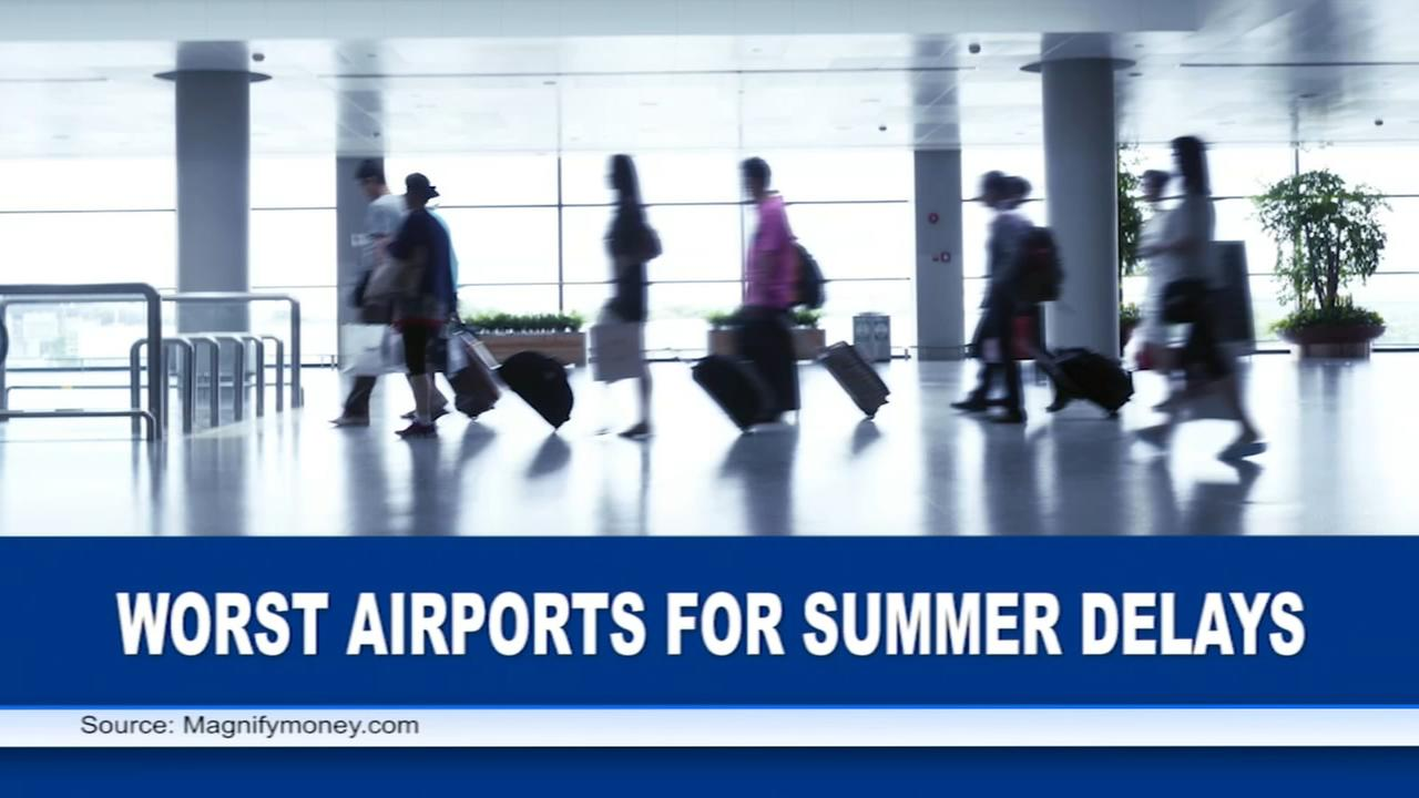 VIDEO: Worst airports for summer delays