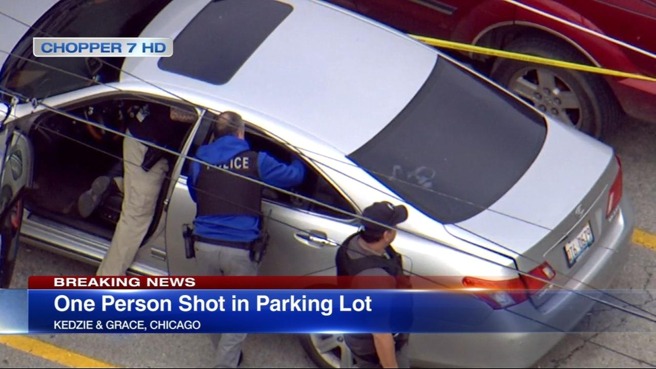 Police: 1 shot in Irving Park