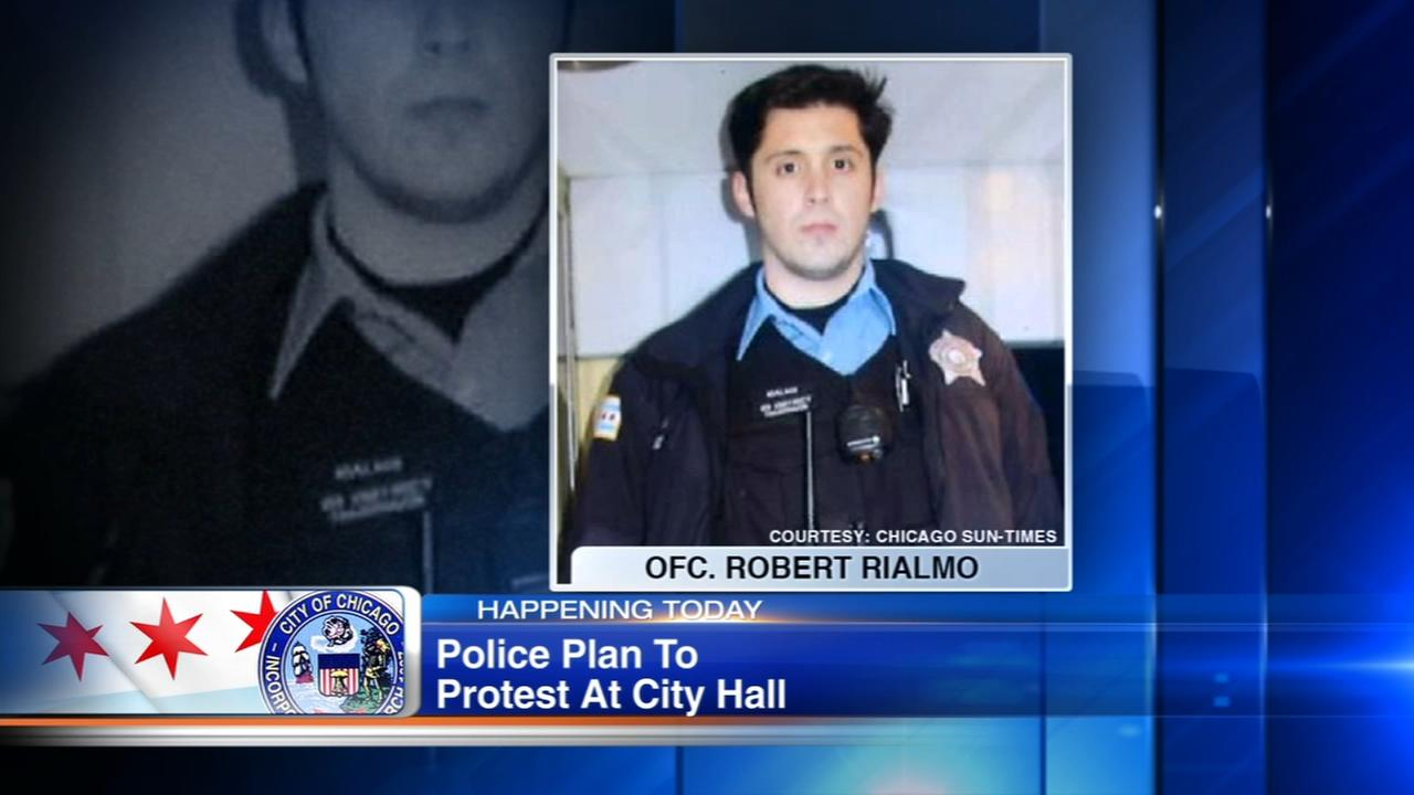 FOP members to protest Rialmo decision, say Emanuel turned his back on CPD