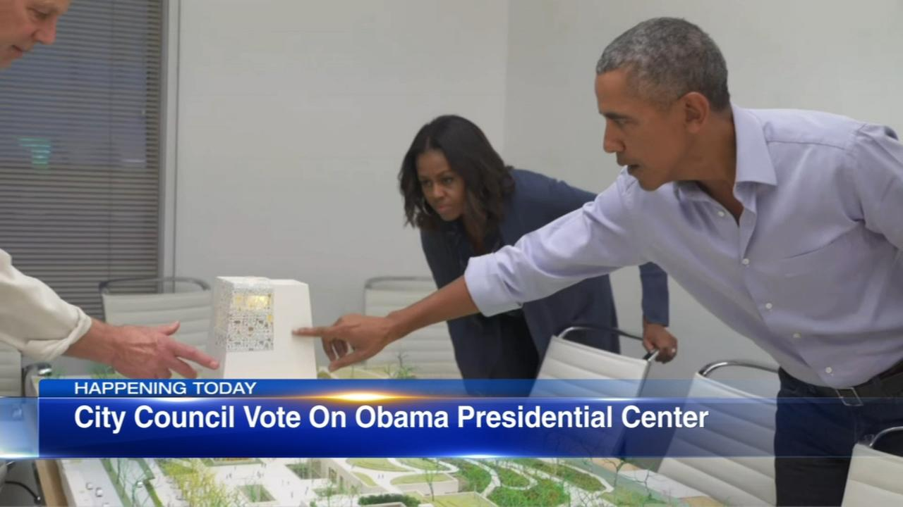 City Council to vote on Obama Presidential Center plans