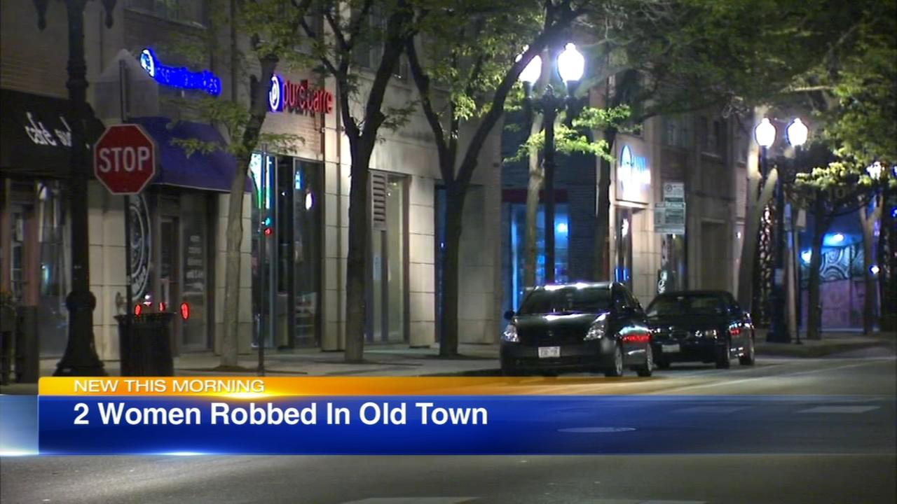 2 women robbed in Old Town