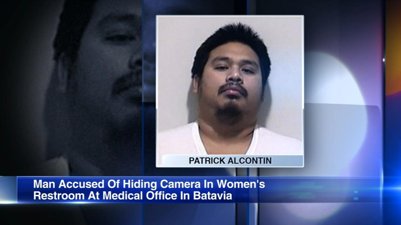 Hidden camera found in womens restroom in Batavia; man charged